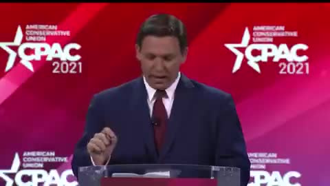 Governor Ron DeSantis kicks off #CPAC2021