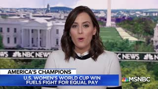 U.S. Women's World Cup Win Has Refueled Fight For Equal Pay