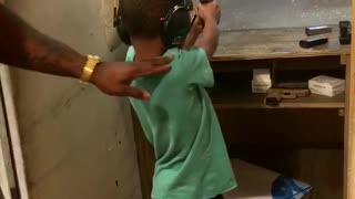 Kids Learn to Shoot at Gun Range - Video