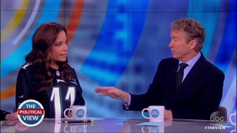 'The View' Explodes When Rand Paul Says Memo Should Be Released