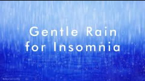 Gentle Rain and Thunder For Insomnia