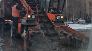 Snow Removal Fail - Video
