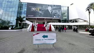 Cannes' festival palace turned into vaccine center