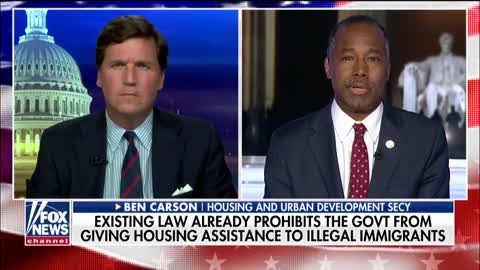 Ben Carson explains the law on housing to Illegal Immigrants