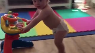 Collab copyright protection - diaper baby toy cart fail - Video