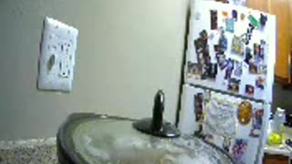 Pot camera guy pushes friend into wall bottle explodes - Video