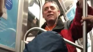 "Man sings ""Brick House"" on NYC Subway  - Video"