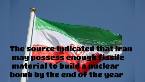 A US official indicates that Iran is close to building a nuclear bomb and promises new sanctions