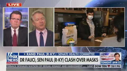 Rand Paul talks about spat with Dr. Fauci