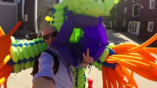 Super Cute Balloon Monstar  - Video