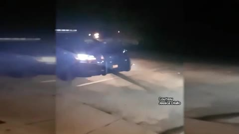 Woman Posts Video Pleading With Police to Kill Dog Ripping Her Van Apart
