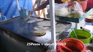 Street Food in Puebla, Mexico