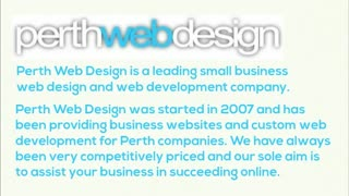 Web design Perth - Video