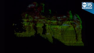 Sedona Northern Lights! USA's largest 3D holiday light show - ABC15 Digital - Video