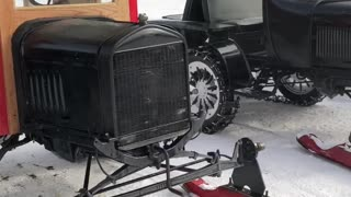 Awesome Model T Snowmobile Showcase