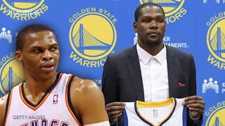 "Kevin Durant Says Him & Russell Westbrook Are ""Cool"" Again - Video"