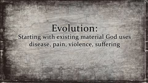 Which Glorifies God more, evolution or creation?