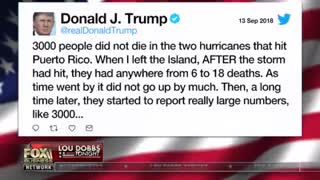 Lou Dobbs slams attacks on Trump for Puerto Rico death toll: 'An amazing tortured inflation'