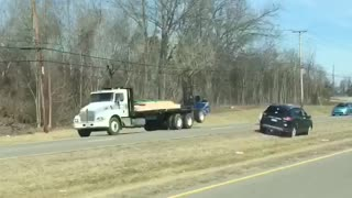 Driving on the Wrong Side of Highway - Video
