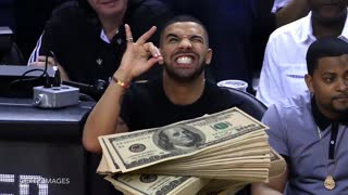 Drake Loses $60,000 Bet On LeBron James - Video