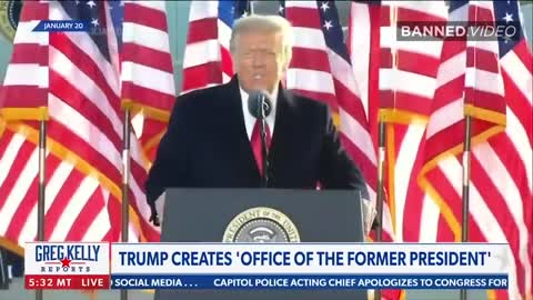 NEWSMAX: Trump Creates 'Office Of The Former President'