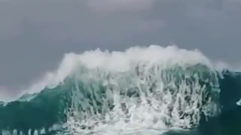 The biggest wave in the world