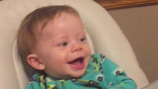 Baby Deac Laughing.