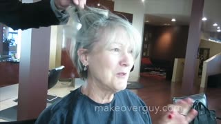 MAKEOVER: Sexy, Sassy, Silver and Classy, by Christopher Hopkins, The Makeover Guy® - Video