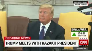 Trump Responds With Just One Word After He's Barraged With Questions by CNN's Jim Acosta - Video