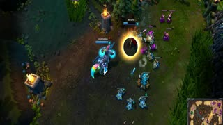 League of Legends Ultra Rapid Fire - Hecarim the helicopter - Video