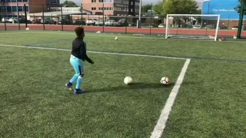 This kid's amazing soccer skills earn him a brand new PS5