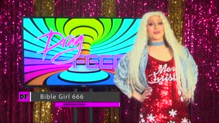 """RAJA and SHARON NEEDLES BEST MOMENTS on Hey Qween! With BibleGirl666 """"On The Set"""" 