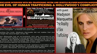 Exclusive Interview with Hollywood Child Trafficking Survivor, Madyson Marquette on #EATruthRadio