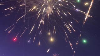 Fireworks Cache Catches Fire During Fourth-of-July Celebrations