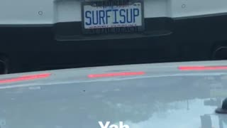 Surfisup camaro car license plate - Video