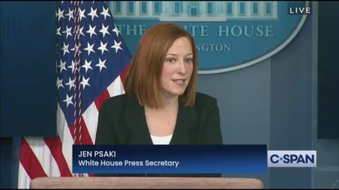 Reporter Wants To Know Why Biden Hasn't Addressed Congress; Psaki Gives Bullcrap Response