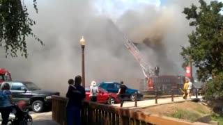 Canal Fulton Exchange Building Fire