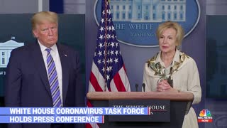 WH press questions task force experts in attempt to undermine Trump