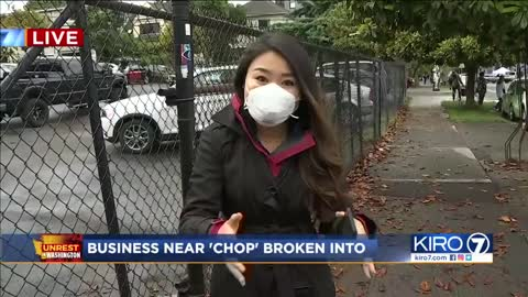 KIRO report on Car Tender burglary/arson