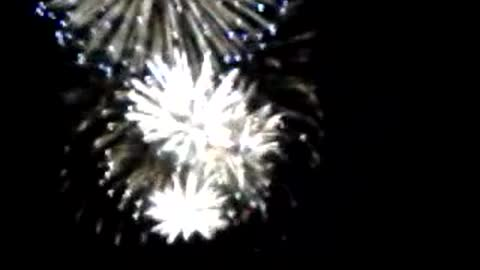 Fireworks Light Up The Sky