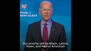 Biden Excludes White-Owned Businesses As Rebuilding Priority
