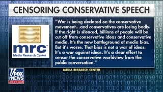 Report reveals censorship of conservative speech by tech giants - Video