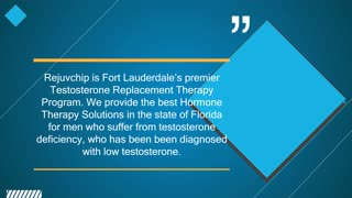 Hormone Replacement Therapy Florida - Video