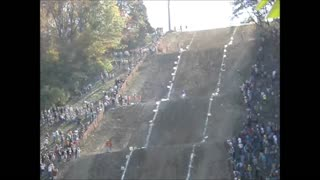 8 Year old does Huge Hillclimb! - Video