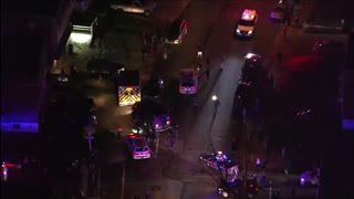 Stolen Ambulance Police Pursuit.. Tow Truck Gets Involved In The Chase...