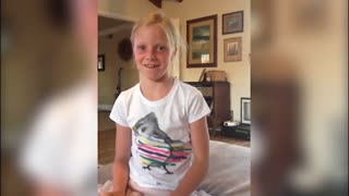 Girl forgets when Fourth of July Is - Video