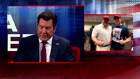 Robert Hyde speaking with Eric Bolling