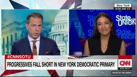 Ocasio-Cortez repeatedly dodges Jake Tapper on funding $40 trillion platform