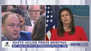April Ryan kept asking question though Sanders had not called on her