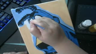THE TICK PAINTING